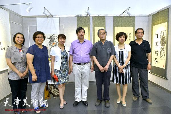 天津师范大学书画院作品展今举行