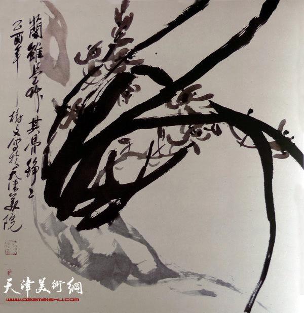 著名画家杨树文:水彩画的颜色做得越简单越好|中国画