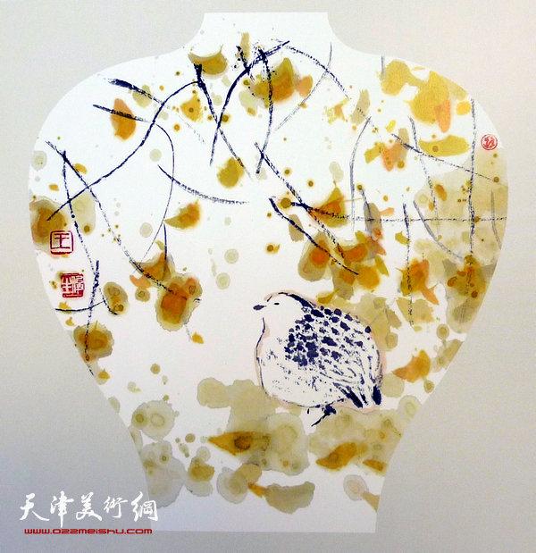 王俊生水墨画:《平安图》