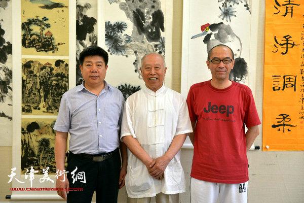 王俊生在天津美术网