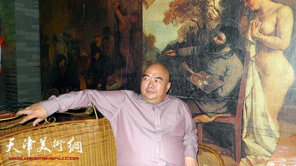 尹沧海在桂林阳朔