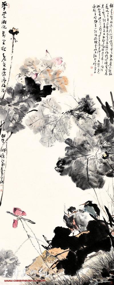 尹沧海作品:《梦萦湘沅万里秋》