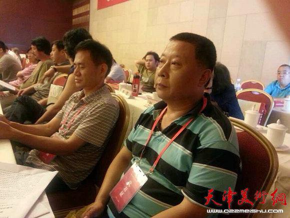 天津市美术家协会第五次代表大会在津召开。