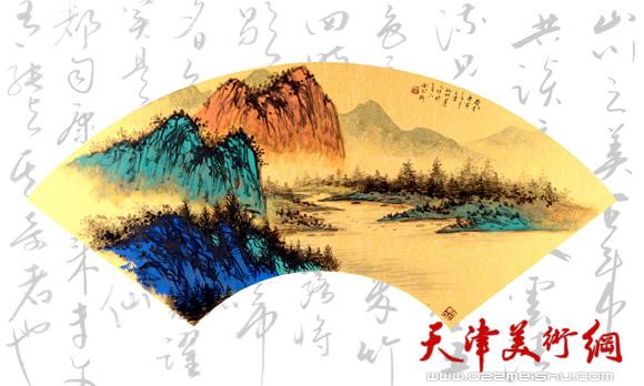 著名书画家阎尔新:折扇虽小文化信息含量非常丰富