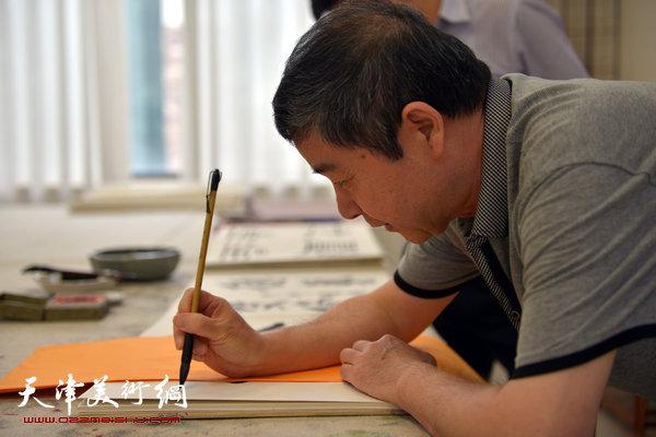 爱新觉罗・毓峋在天津美术网