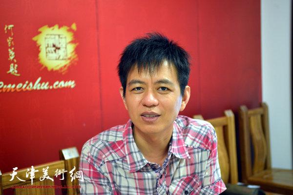青年画家杨海涛做客天津美术网访谈实录