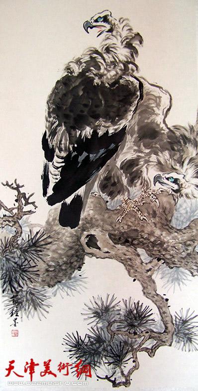 孙富泉作品《秃鹫》