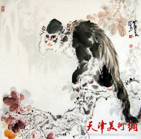 画动物题材的画家现在天津还比较少