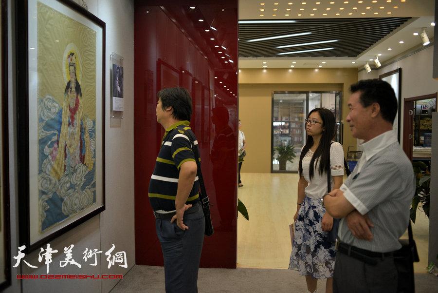 画家陈之海 徐伯全 杨晓君中国画新作在津展出