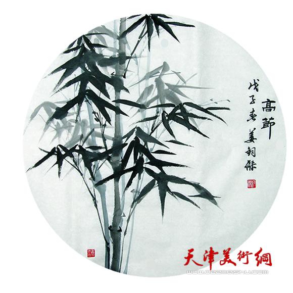 姜钧杰绘画作品《高节》