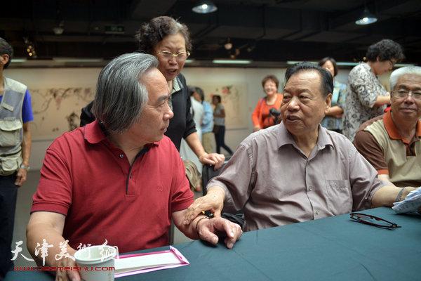 张蒲生执教54周年、从艺62周年美术作品展在天津美术学院美术展览馆盛大开幕