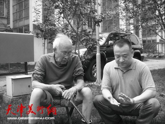 贾冰吾和孙其峰先生