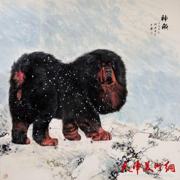 六年级学生美术动物绘画作品