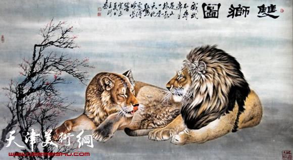 我国画动物的画家