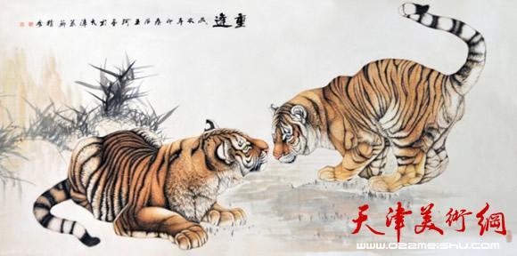著名画家珅源:我喜欢动物画与我的身体有关|中国画