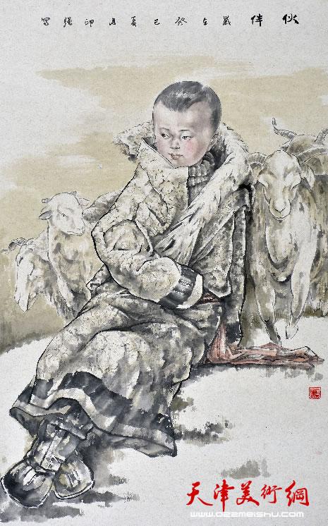 王印强作品《伙伴》