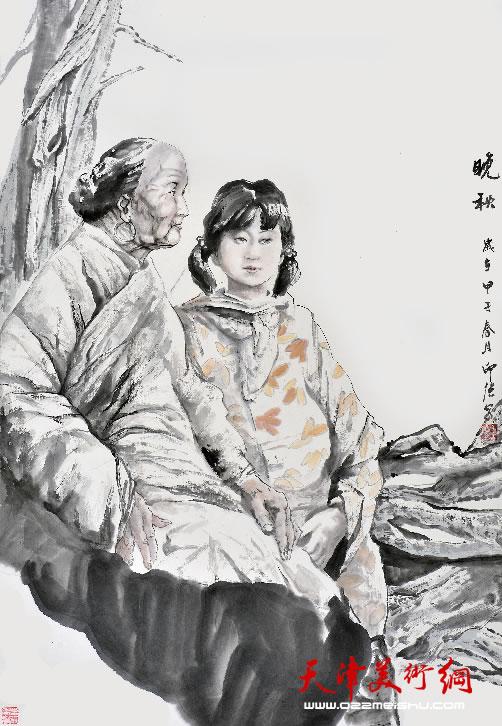 王印强作品《晚秋》