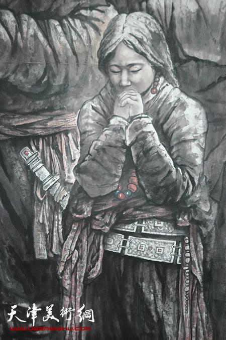 王印强作品《吉祥如意》局部3