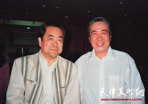 邓家驹和范曾先生