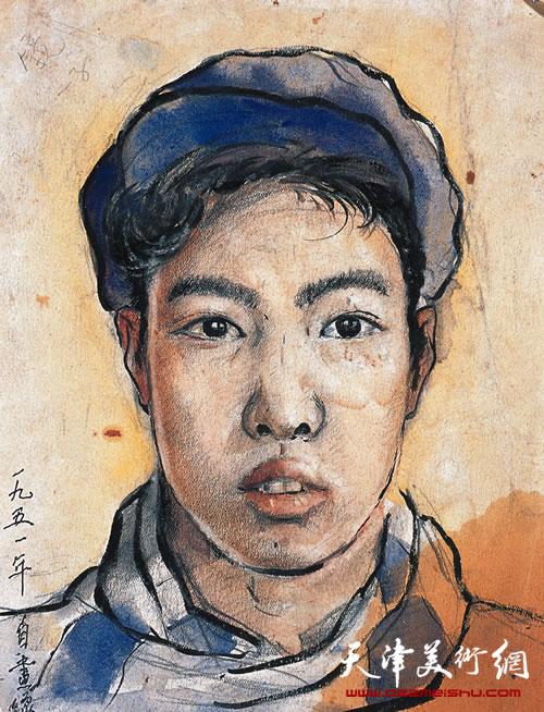 邓家驹自画像(1951年作)