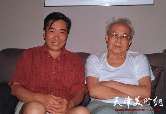 邓家驹和孙其峰先生