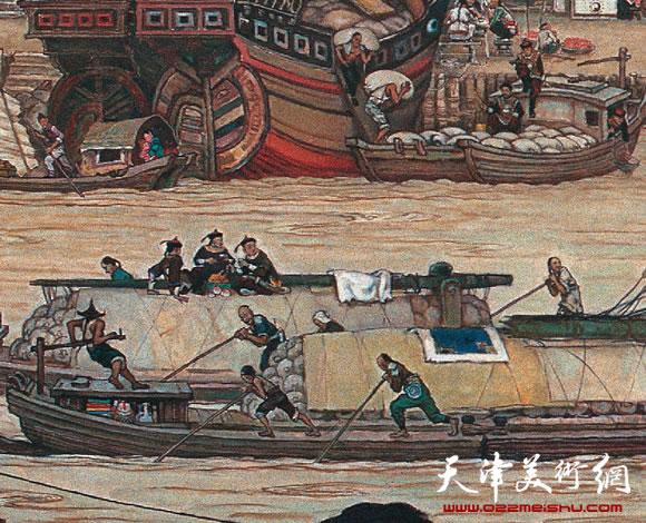 漕运图局部