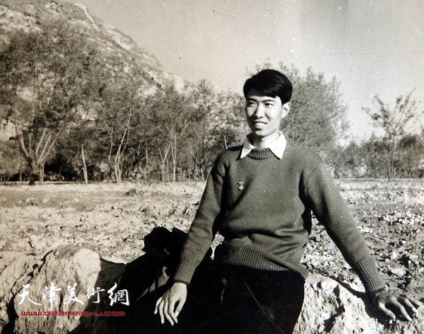邓家驹上世纪50年代在中央美院