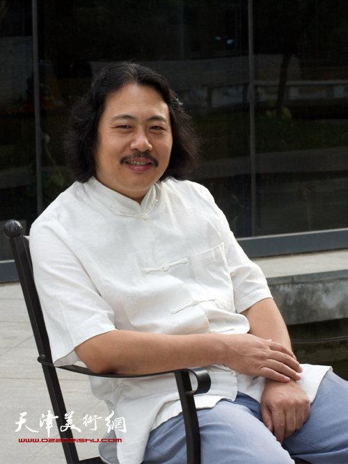天津画院院长贾广健