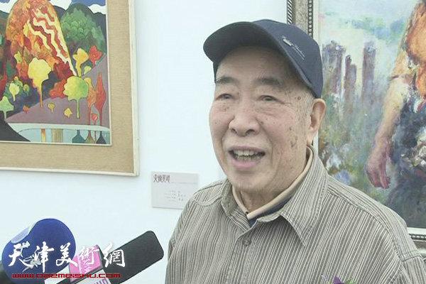 邓家驹谈天津画院35周年美展:作品中洋溢着情感