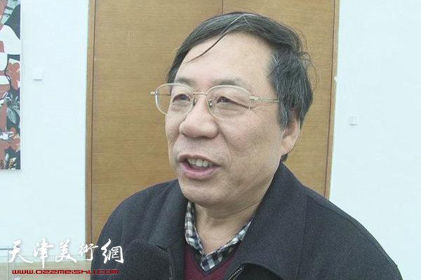 陈英杰:天津画院拥有一支专业的美术创作团队