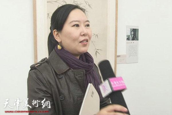任欢谈天津画院35周年美展:美术爱好者的盛筵