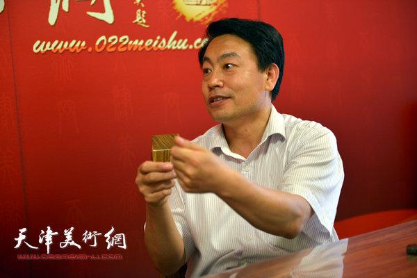 """刘俊坡书""""习近平总书记经典语录""""作品展亮相黄骅"""