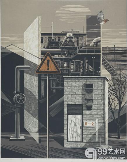 中国梦61龙江情——黑龙江工业版画作品展览|版画