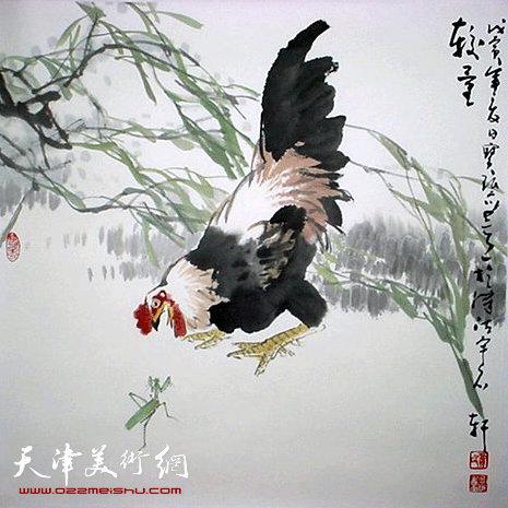贾宝珉师生花鸟画作品展在苏州高风堂美术馆开幕