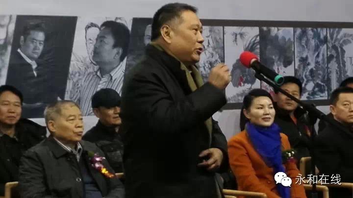 中国画学会副会长、河南省美协主席马国强讲话