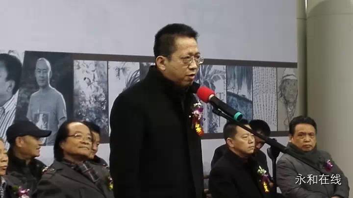 天津市美协副主席、天津人美出版社社长李毅峰讲话