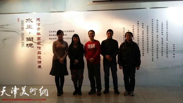 参展画家:李悦、黄雅丽、陈渊、丁广义、范宁