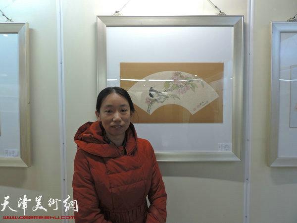参展画家庄雪阳