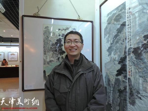 参展画家陈渊