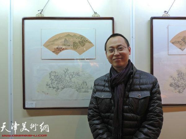 参展画家杨彦辉