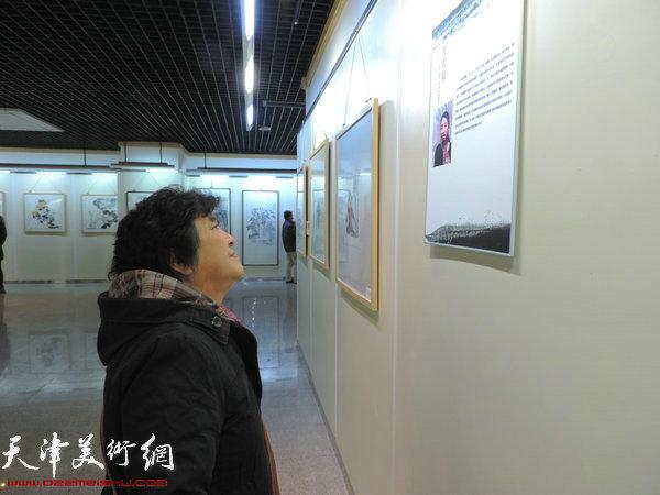 图为展览现场