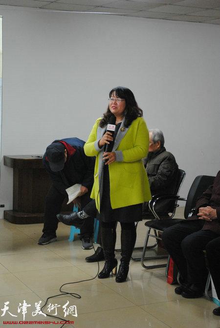 企业家代表赵丽红女士发言
