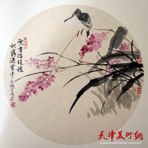 刘学峰作品《赏秋》