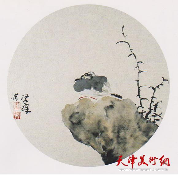 刘学峰作品《暮春空赋白头吟》