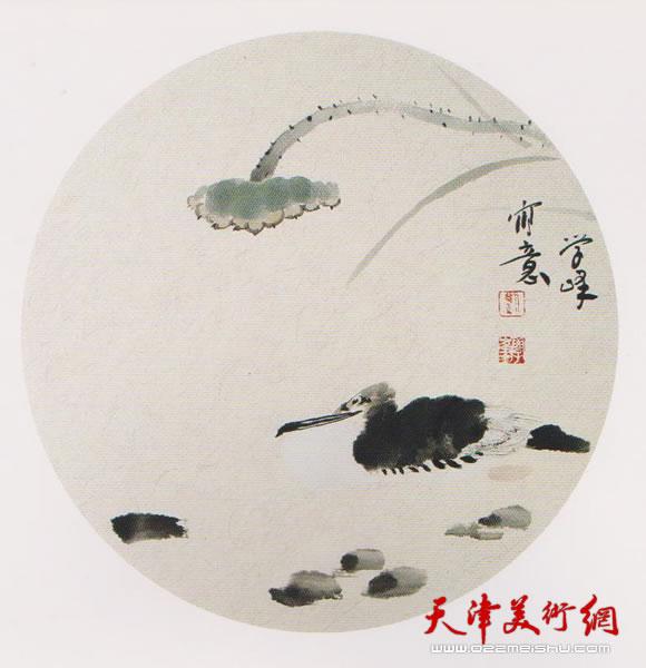 刘学峰作品《静惟闻水有声》