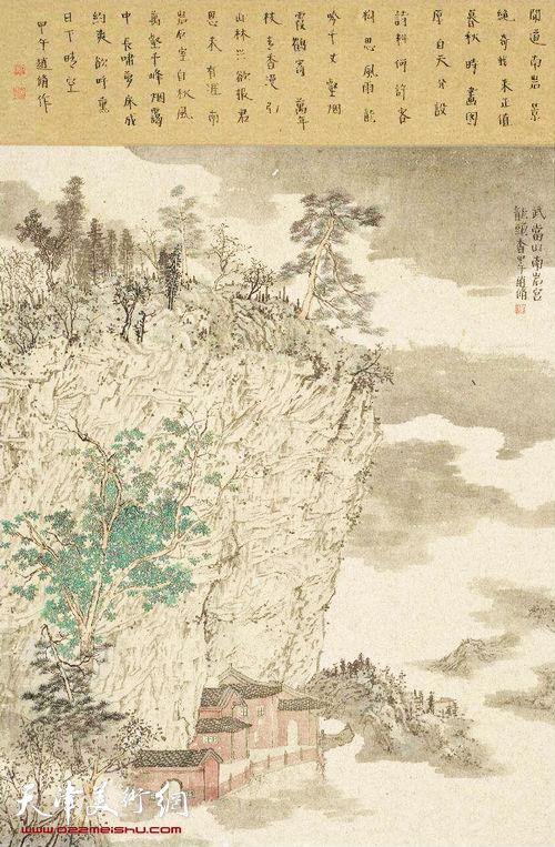 赵修作品:《武当山―龙头香》
