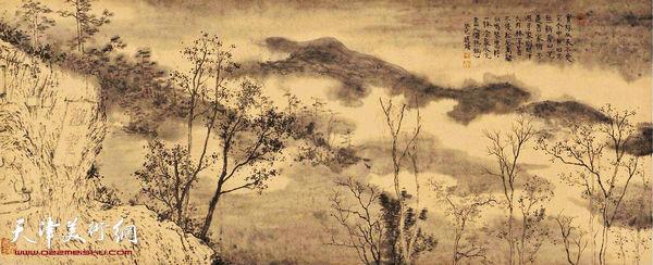 赵修作品:《九华山―观云》