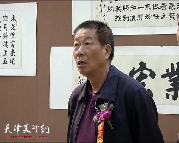 """""""腾飞漳浦・柴守辰、蓝泽周书画联展""""在漳浦博物馆举行。"""