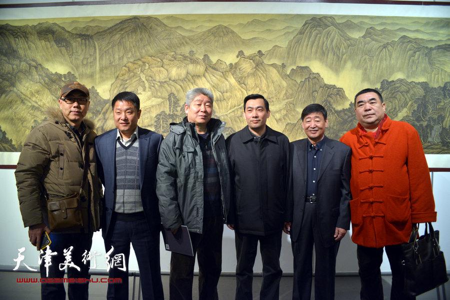 熔铸古今·王心刚中国画作品展在天津美术馆开