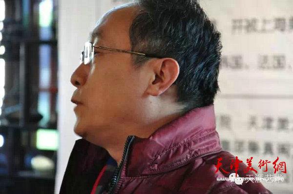 中国书画报社社长何东致辞